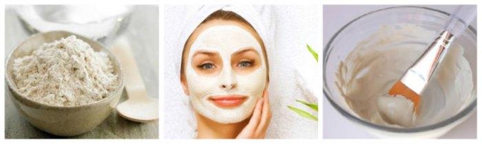 Белая косметическая глина Каолин. Свойства, применение для кожи лица, волос, отзывы