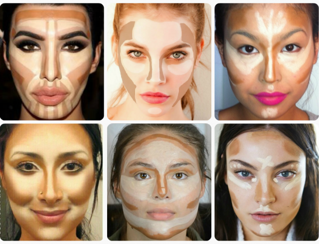 Как правильно корректировать лицо - Всё о макияже
